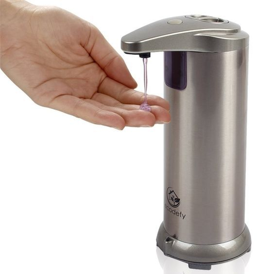 Asi Roval 9343 Stainless Steel Push Button Soap And Hand