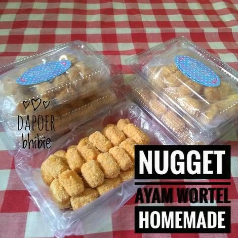 Nugget ayam wortel homemade