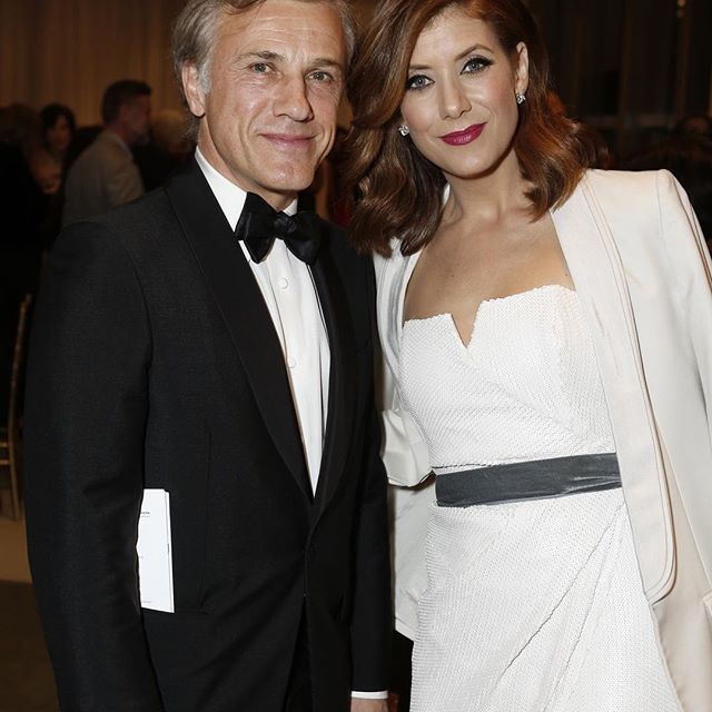 """""""I'm behind them for the next 30 years,"""" said Christoph Waltz at last Friday's #DomingoFleming in Concert. Read @latimes full article on """"3 Things You Missed From LA Opera's 30th Anniversary Gala.""""(Link in bio) #gala #anniversary #LAO30 #ChristophWaltz #KateWalsh #LAOpera #opera #dtla #LosAngeles"""