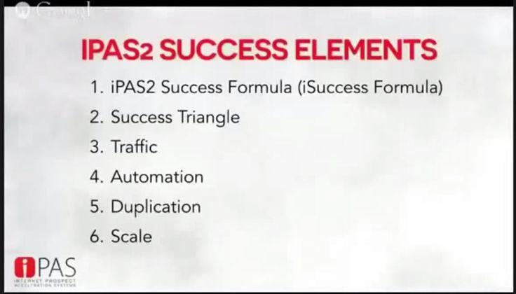 iPAS2 Success Elements