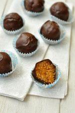 mogyorós barackos édesség - laktózmentes recept