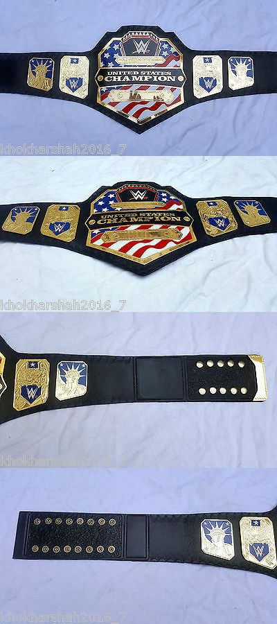 Accessories 36306: Wwe United States Championship Adult Size Metal Replica Belt BUY IT NOW ONLY: $254.99
