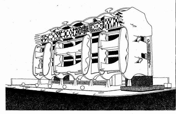 Pancho Guedes, Prédio de apartamentos Leão que Ri, 1955-56