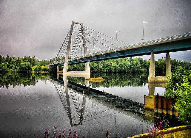 Kolbäck bridge, Umeå.