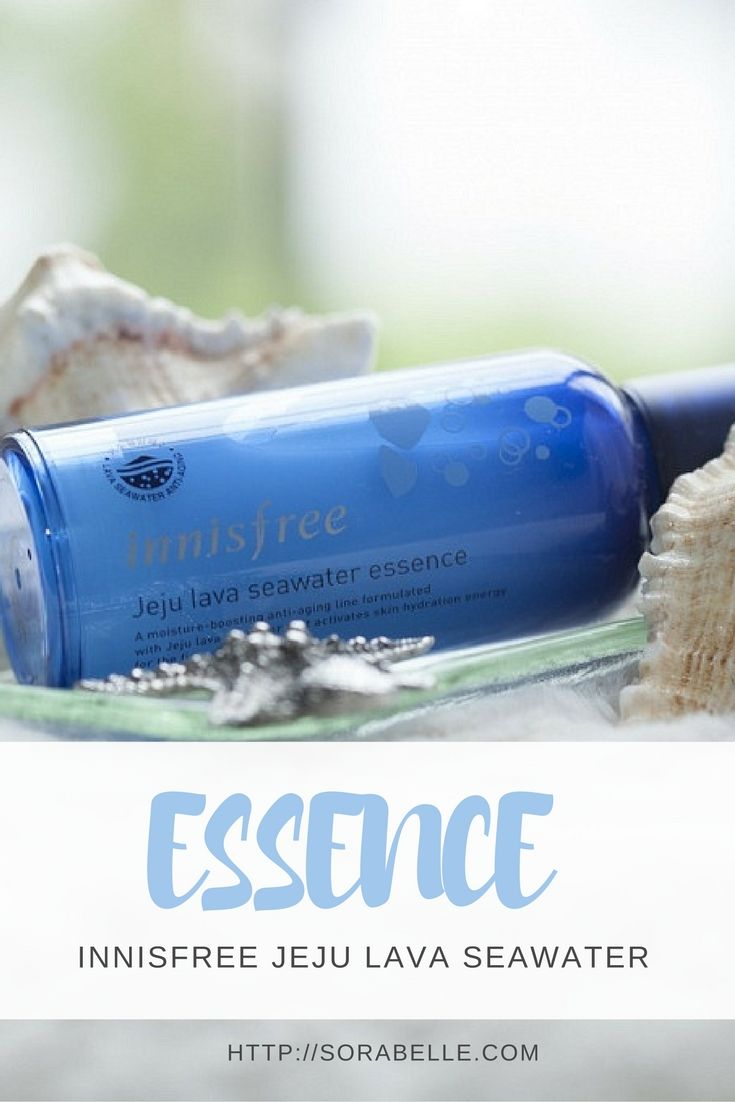 Intensely hydrating, Innisfree's Jeju Lava Seawater Essence softens, plumps, and brightens skin while helping to prevent the appearance of wrinkles. Click through to find out more about it.