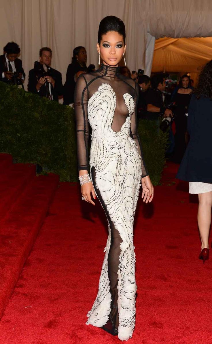 Chanel Iman #Young,gifted #itgirl #fashion