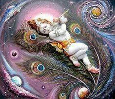 baby krishna glittering wallpaper for desktop - Google Search
