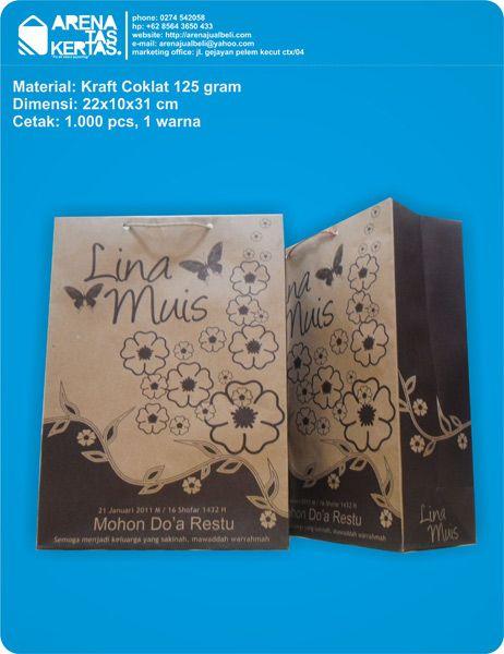 paperbag souvenir nikah lina dan muis