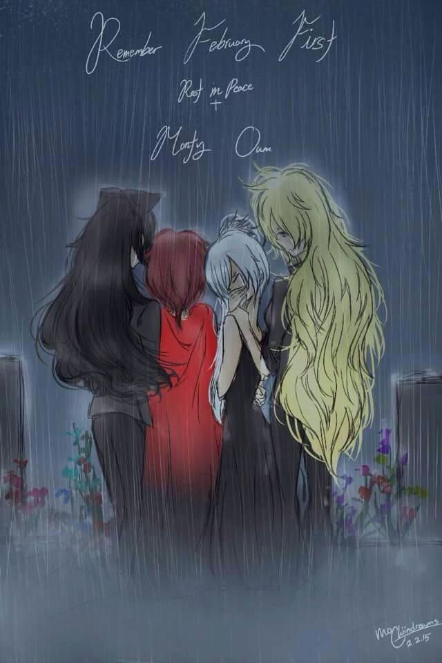 Rest in peace Monty... Ruby's expression make it even sadder...