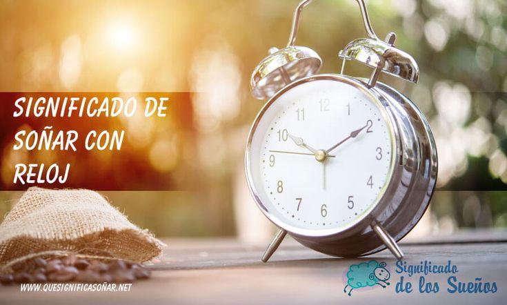 Significado de soñar con reloj - https://xn--quesignificasoar-kub.net/significado-de-sonar-con-reloj/ #sueños #soñar #significadoDeLosSueños