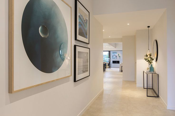 Entry hallway in the Vermont display home with a Cottesloe World of Style.