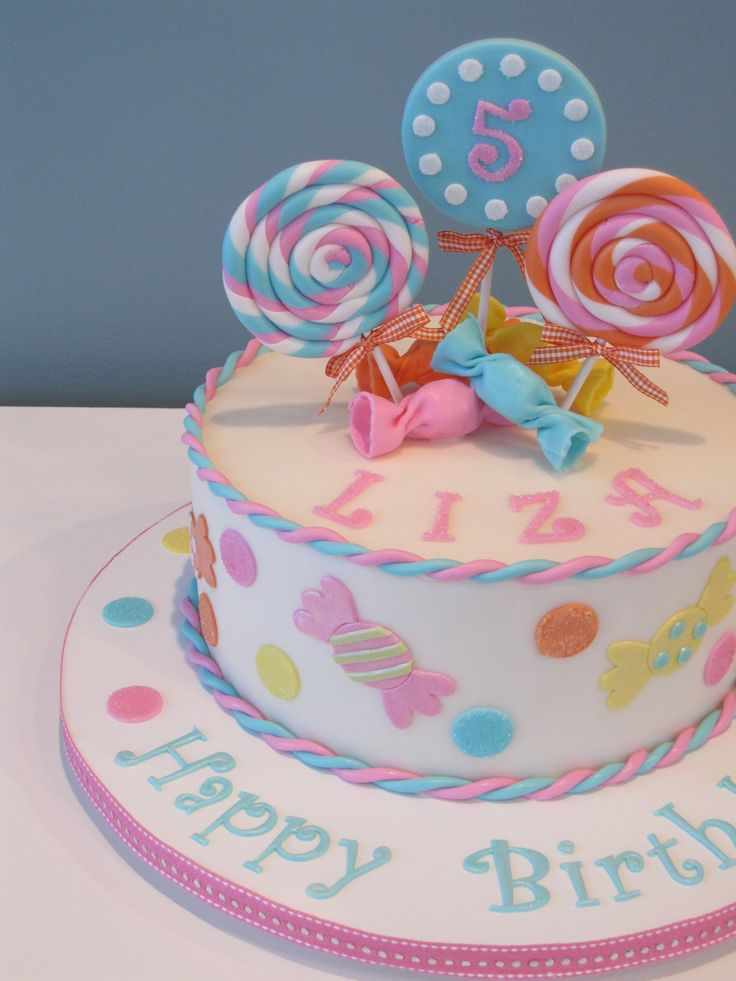 candy themed cakes - Google Search