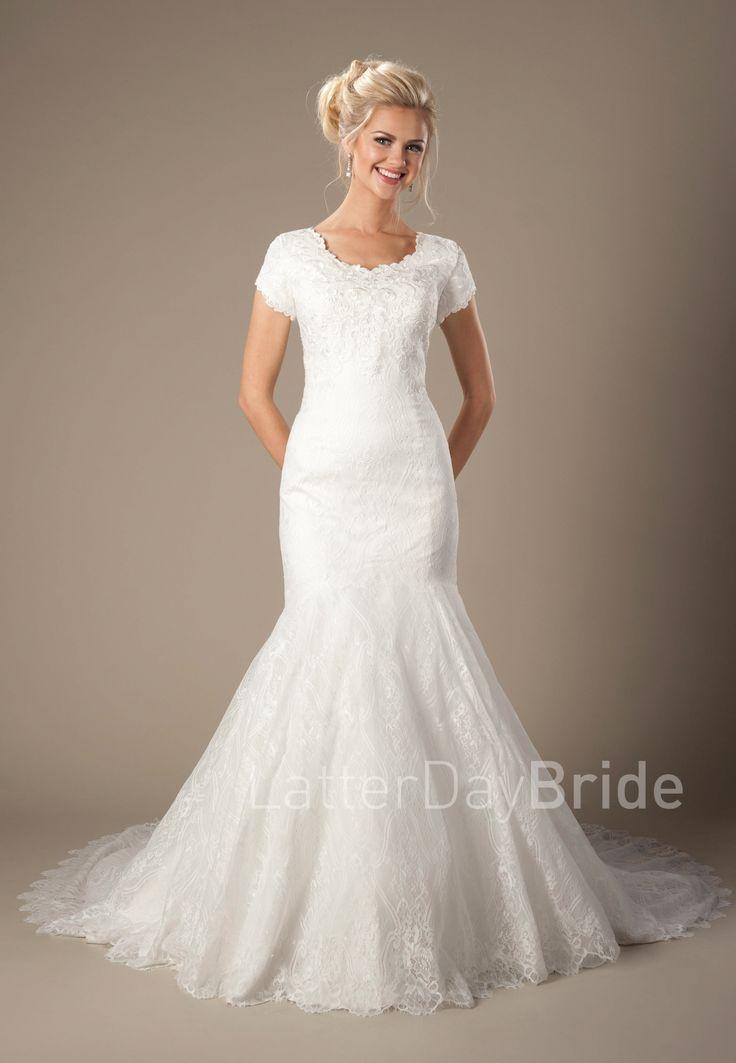 Modest Wedding Dresses Salt Lake City Ut : Wedding dress latterdaybride lds bridal gown salt lake city utah