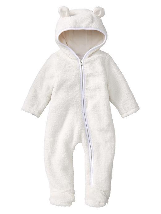 cozy bear onesie Baby Pinterest