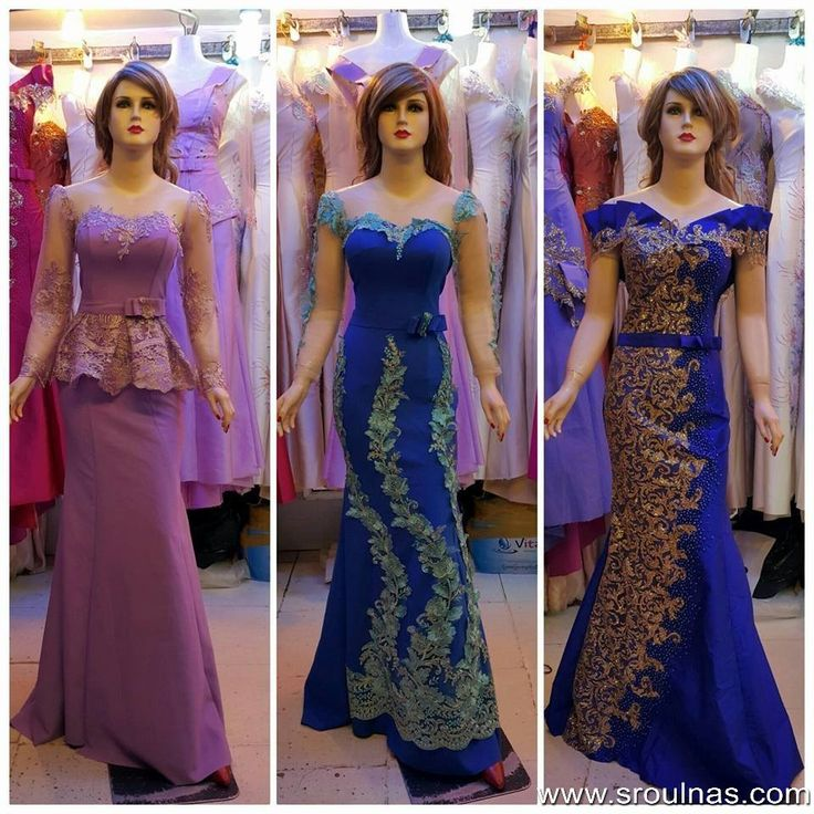 Ladies's Fashion Dress For Wedding And Party In Cambodia