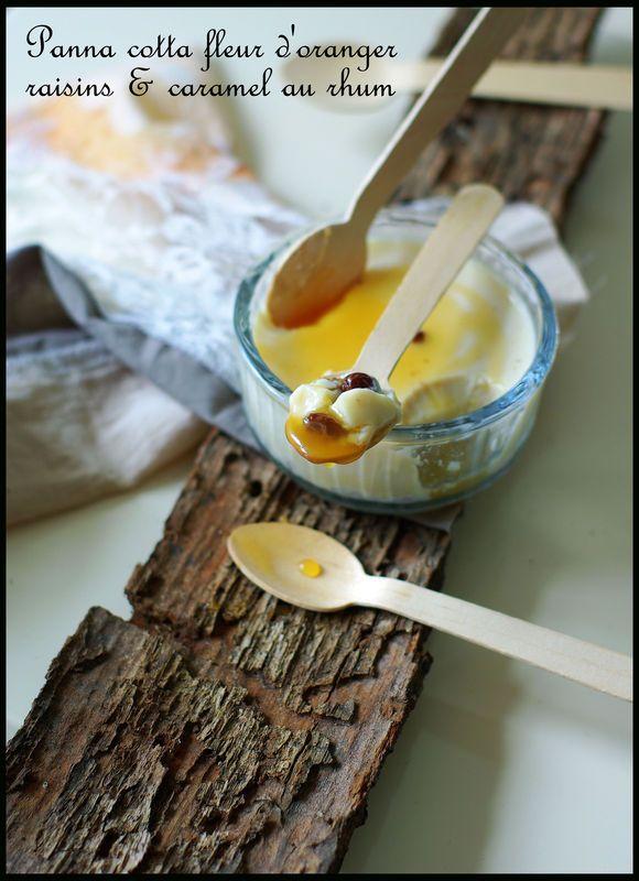 Panna Cotta Fleur D Oranger Raisins Et Son Caramel Au Vieux Rhum De Guadeloupe Mais Sans Le Clapotis Des Vagues Talons Hauts Cacao Recette Entremet Alimentation Recettes De Cuisine