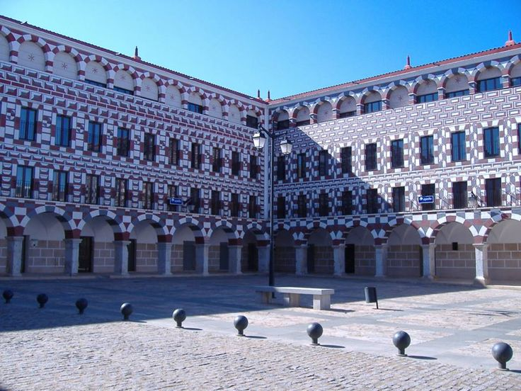 Plaza Alta, Badajoz, Extremadura, Spain http://bovingtonphotosofspain.blogspot.com.es/2015/06/badajoz.html