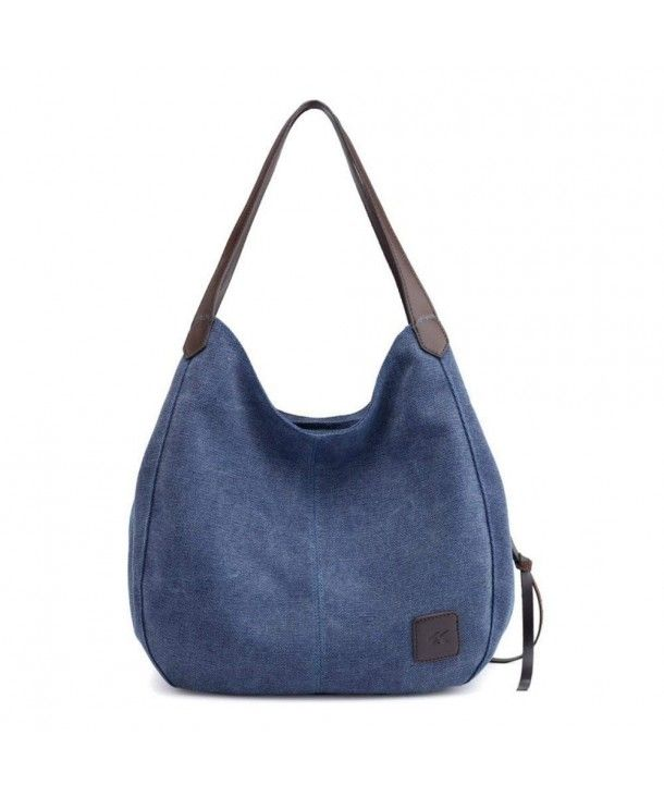 9f34a576c6fb Women Fashion Canvas Shoulder Bag Casual Cotton Canvas Handbag ...