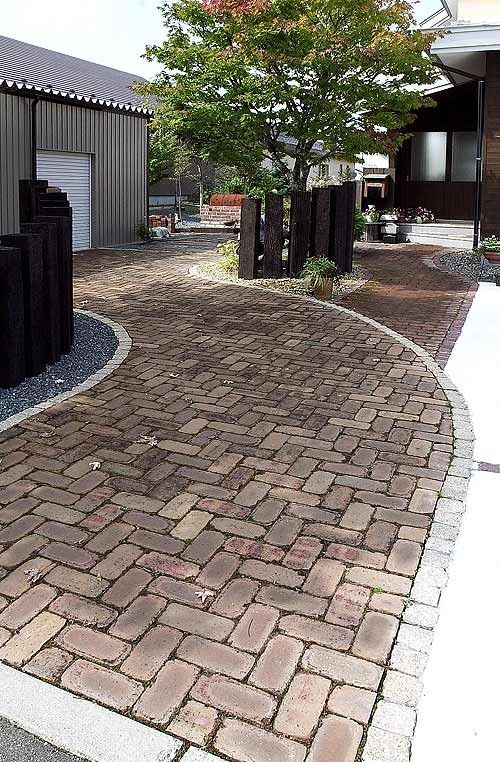 stone pathway, don't know if I love it; but could work