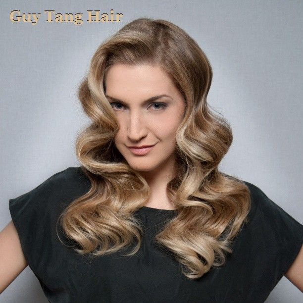Finger wave Red Carpet Ombre by Guy Tang