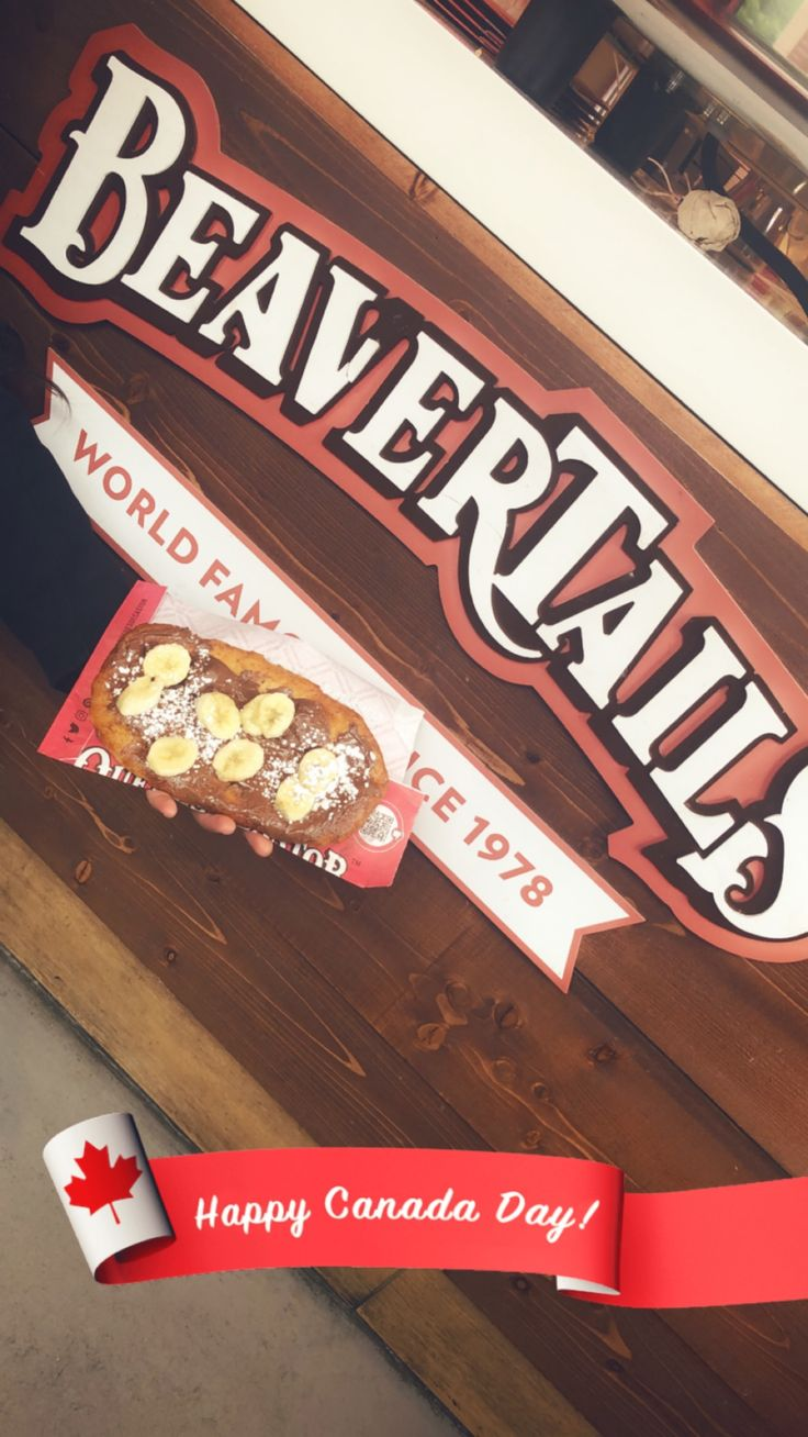 beavertail dessert banff (With images) Happy canada