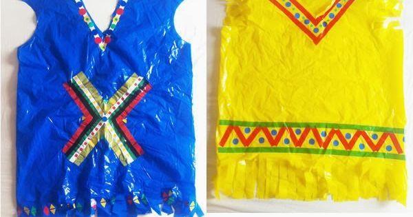 disfraz indio bolsa basura - Buscar con Google