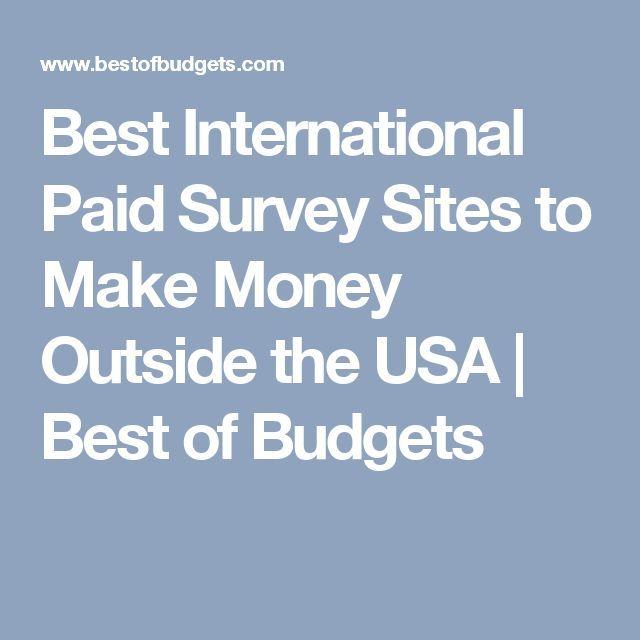 Best International Paid Survey Sites to Make Money…