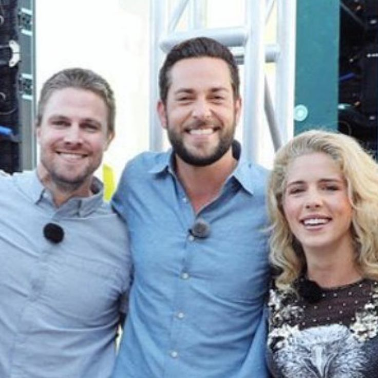 Stephen, Zachary. and Emily Arrow SDCC 2017