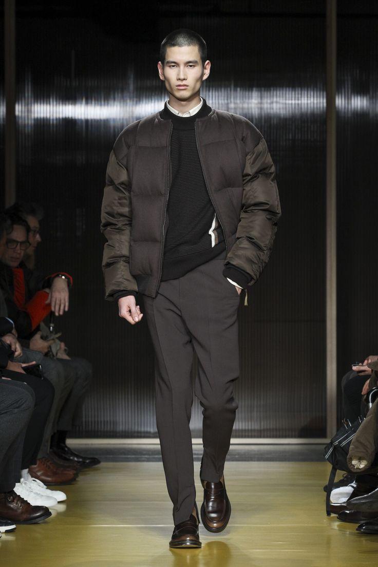 Boss Fall 2018 Menswear Fashion Show Collection