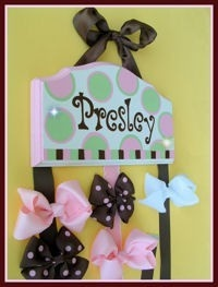 because we all know Brookie will be needing aplace for all her bows!