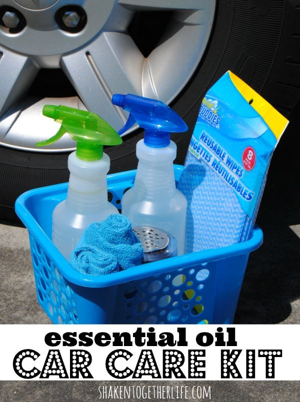 Car Care Kit Amp 3 Diy All Natural Cleaners Great Gift For