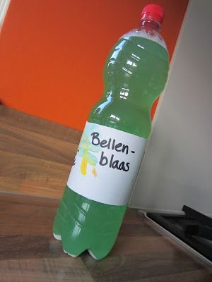 Bellenblaas maken recept nr.2