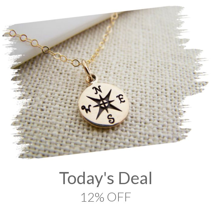 Today Only! 12% OFF this item.  Follow us on Pinterest to be the first to see our exciting Daily Deals. Today's Product: Compass Necklace - Gold Compass Necklace - Lost Without You Compass Tiny 14k Gold Filled Necklace / Gift for Her Buy now: https://small.bz/AAcJqMw #etsy #etsyseller #etsyshop #etsylove #etsyfinds #etsygifts #musthave #loveit #instacool #shop #shopping #onlineshopping #instashop #instagood #instafollow #photooftheday #picoftheday #love #OTstores #smallbiz #sale #dailydeal…