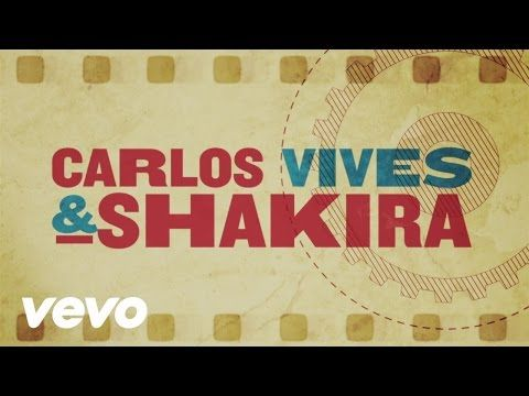 "Carlos Vives & Shakira - ""La Bicicleta"" (Official Lyric Video) Carlos Vives & Shakira's single ""La Bicicleta"" available for download on iTunes here: http://s..."
