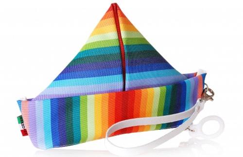Borse e accessori fatti con il tessuto dei lettini da mare!
