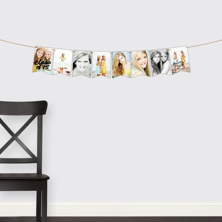 Graduation Party Decorations -- Two Of A Kind Banner | Pear Tree Greetings - #banner #decorations #graduation #greetings #party