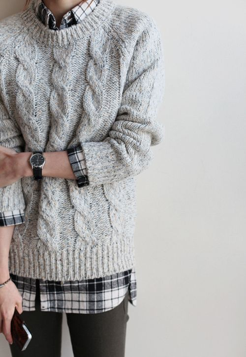gray/plaid