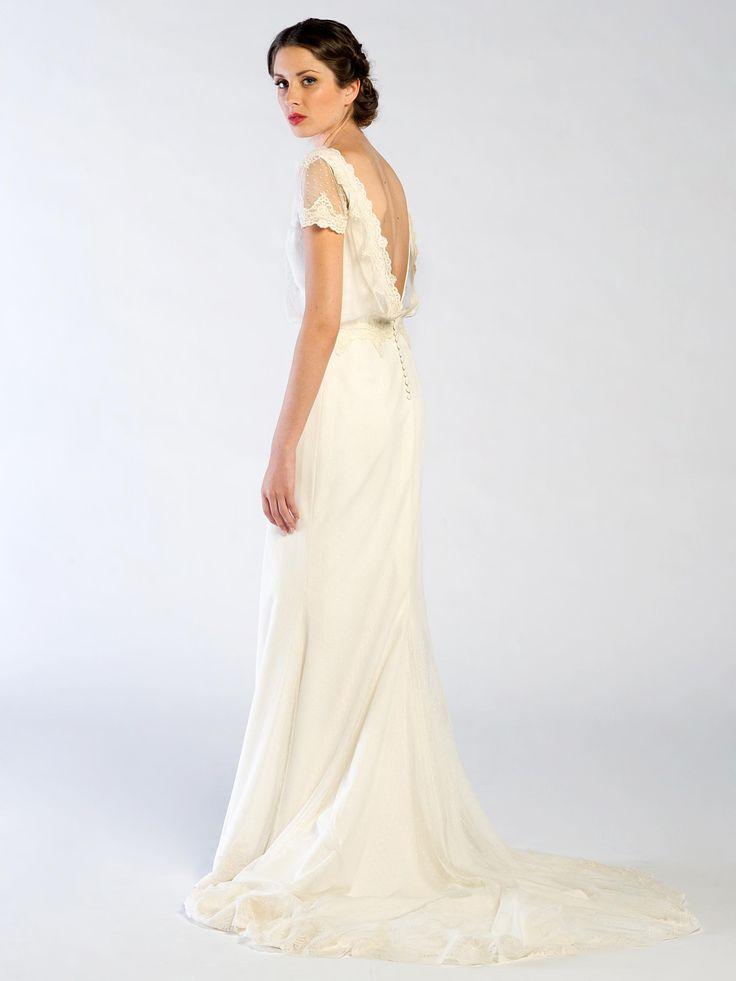 www.jorgeaparisi.com Vestido de novia Pol Nuñez espaldas que enamoran