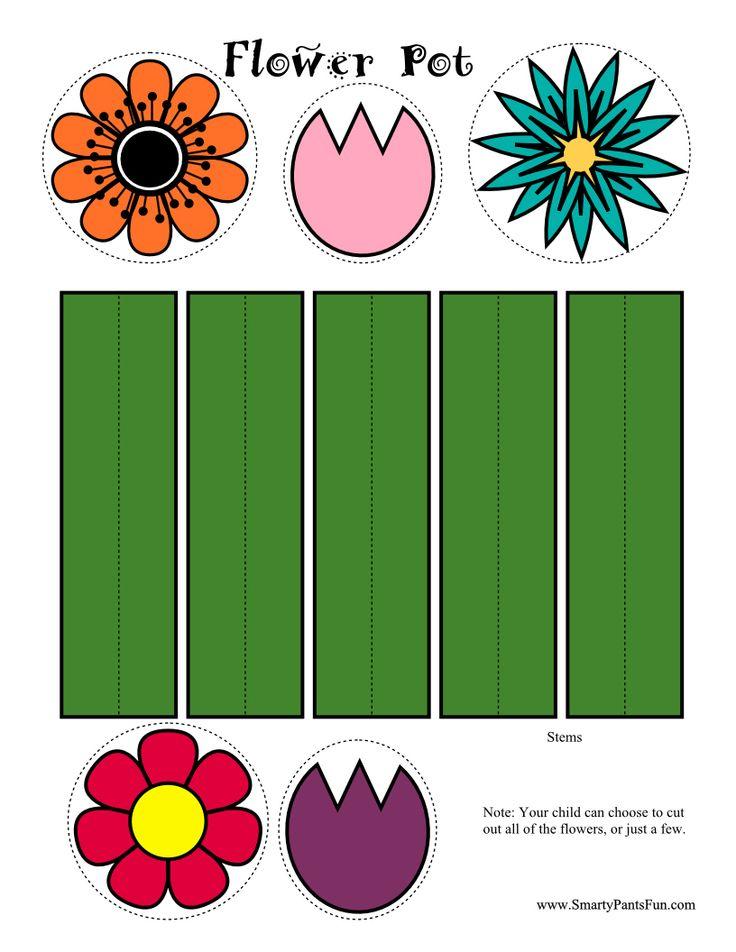 Paper Flower Craft Preschool