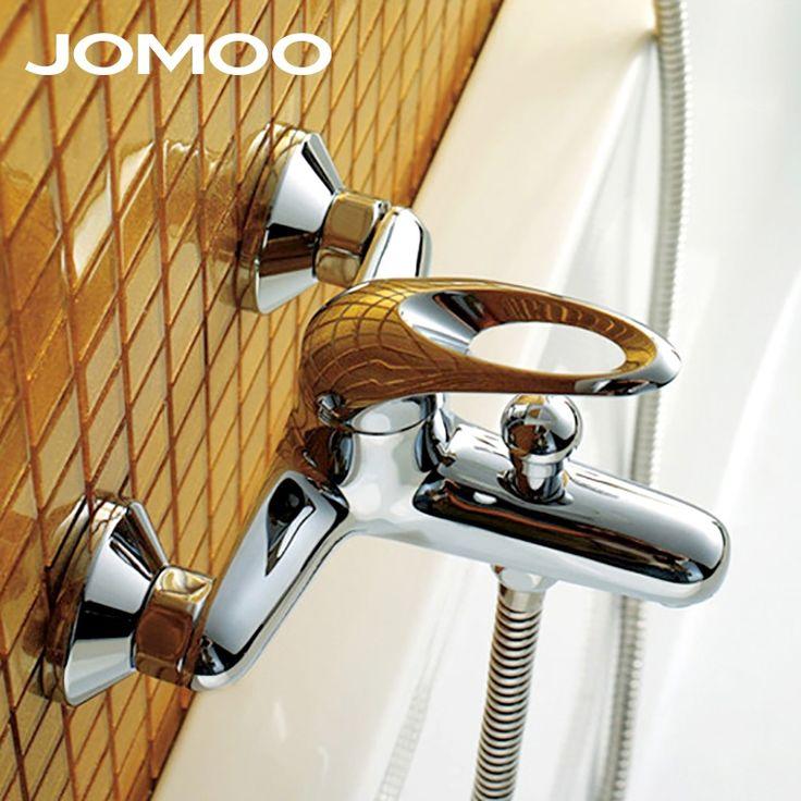 54.82$  Buy now - http://alibzh.shopchina.info/1/go.php?t=32780788325 - JOMOO Bathroom Bath Faucet Shower Faucet Bathtub shower brass material Polish Chrome finish Thermostatic shower mixer 3571-050  #magazineonline