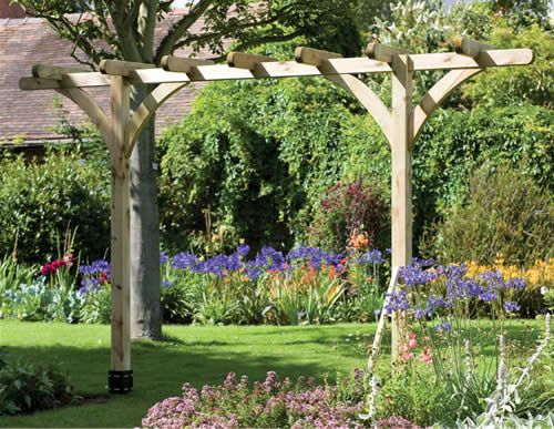 pergola free standing narrow - Google Search