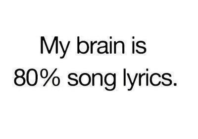 And will occasionally break out into a song