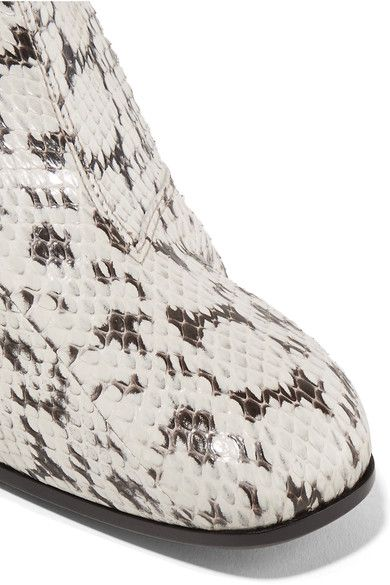 Gucci - Elaphe Ankle Boots - Snake print - IT38.5