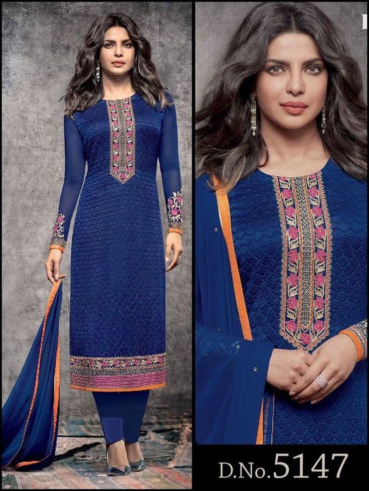 Indian Salwar Bollywood Pakistani Designer Ethnic Suit New Anarkali Kameez Dress #TanishiFashion