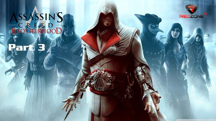 Assassin's Creed Brotherhood   Walkthrough Part 3  Full HD video game