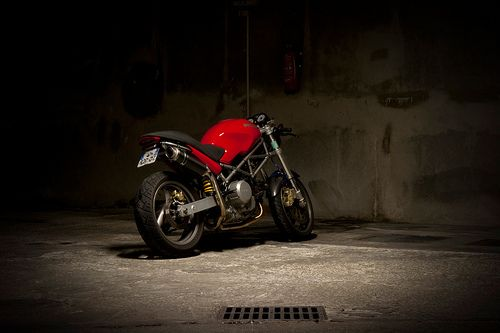 Ducati Monster 620 cafe racer | ducati monster 620 cafe race… | Flickr