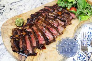 Steak with Teriyaki Glaze : The Best Teriyaki Steak Recipe
