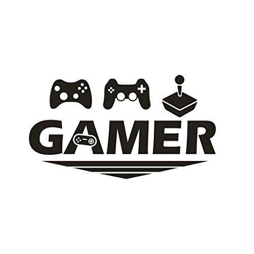 Cinnamou Mode Sticker Mural Gamer Chambre De Joueurs Vinyle