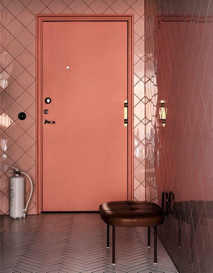 Sol Stool By Andreas Engesvik For LK Hjelle Pink TilesScandinavian Interior DesignWall