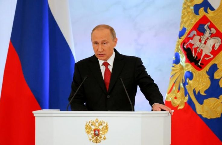 Putin tells Rouhani he wants Syria conflict resolved soon: Kremlin 12/19/2016